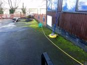 Kinlet-School-Playground-Before