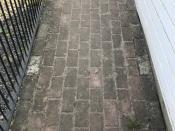 Brick Path Dirty